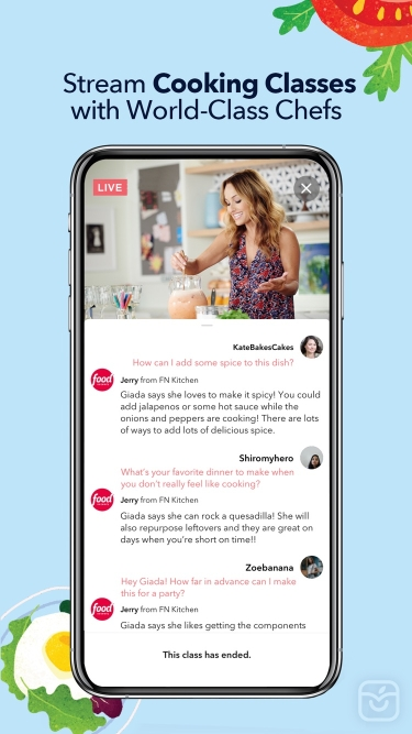 تصاویر Food Network Kitchen