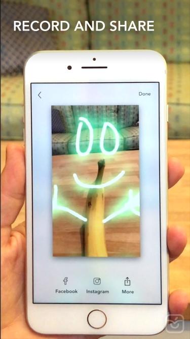 تصاویر LightSpace - 3D painting in AR
