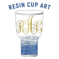 لوگو Resin Cup Art