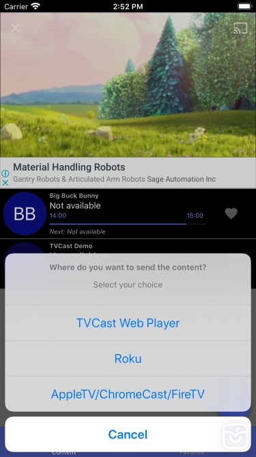 تصاویر TVCast IPTV on your TV