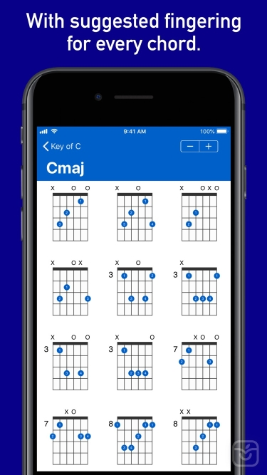 تصاویر GtrLib Chords Pro