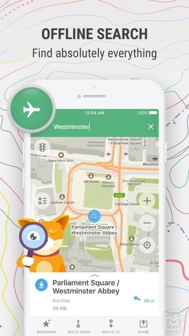 تصاویر MAPS.ME: Offline Maps, GPS Nav