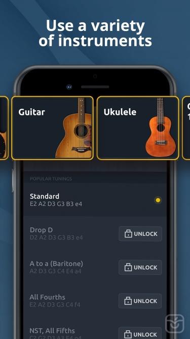تصاویر Guitar Tuner - Ukulele & Bass