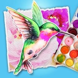لوگو Simply Watercolor