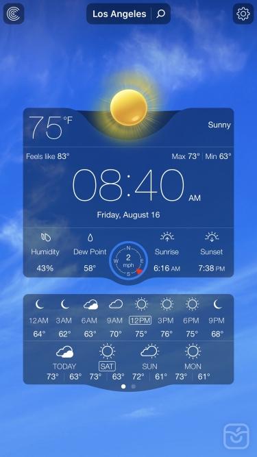 تصاویر Weather Live