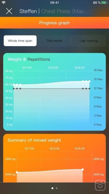 تصاویر Gymnotize Fitness Workout App