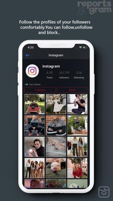 تصاویر ReportsGram for Instagram