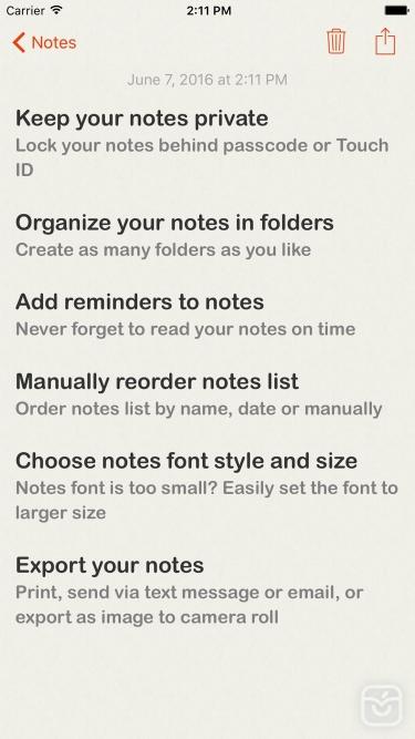 تصاویر Lock Notes Pro