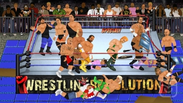 تصاویر Wrestling Revolution Pro