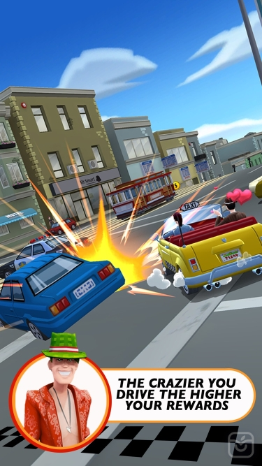 تصاویر Crazy Taxi City Rush