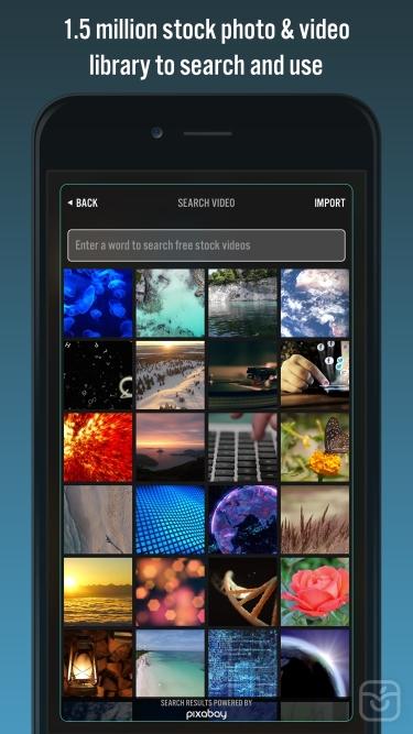 تصاویر Videorama Text & Video Editor