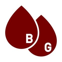 لوگو Blood Glucose BG