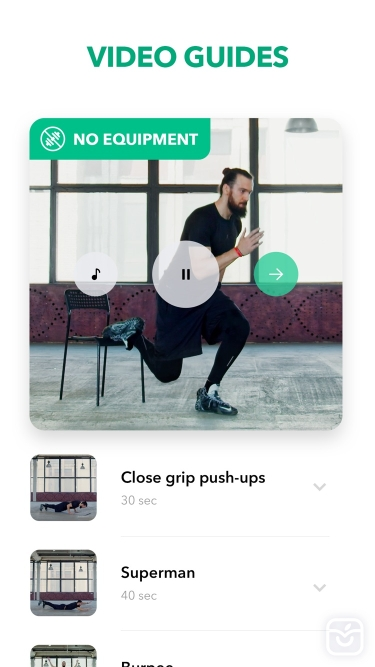 تصاویر Home Fitness Workout by GetFit
