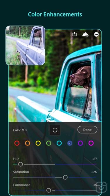 تصاویر Adobe Lightroom Photo Editor