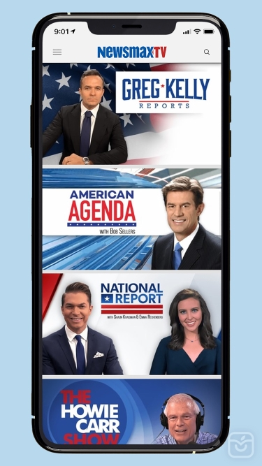 تصاویر Newsmax TV & Web