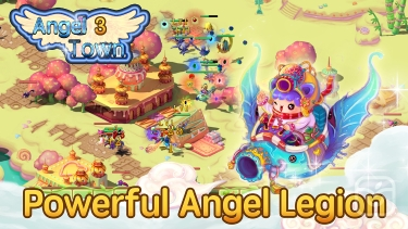 تصاویر Angel Town 3- new idle game