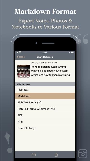 تصاویر Notewrap - Book & Blog Writer