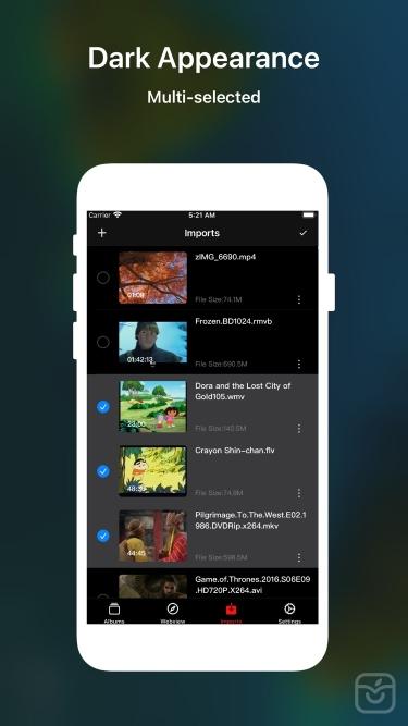 تصاویر ZOE - Video Player