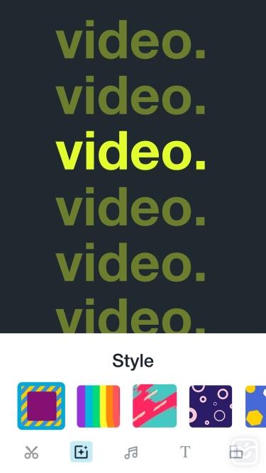تصاویر Vimeo Create - Video Editor