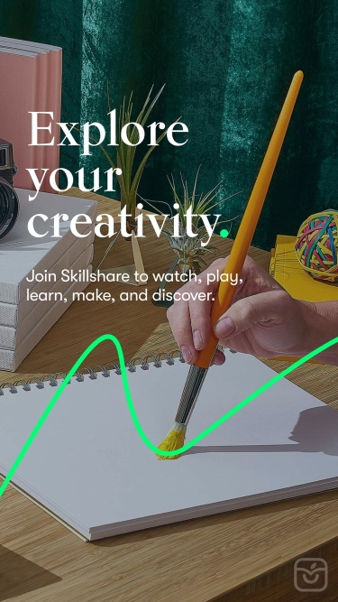 تصاویر Skillshare - Creative Classes