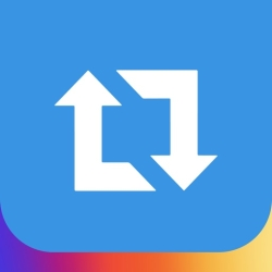 لوگو Repost for Instagram #Repost