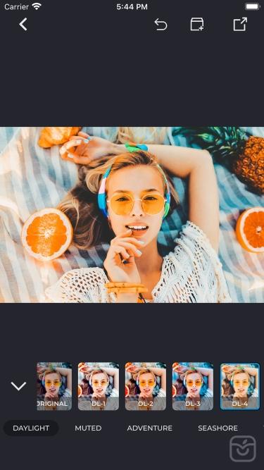 تصاویر Tangerine Presets