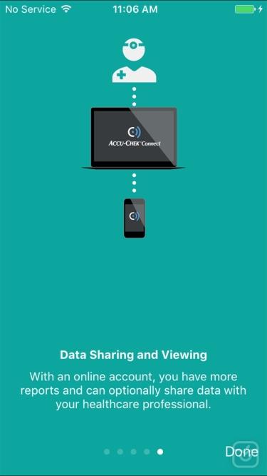 تصاویر Accu-Chek® Connect App - US