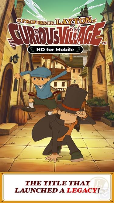 تصاویر Layton: Curious Village in HD