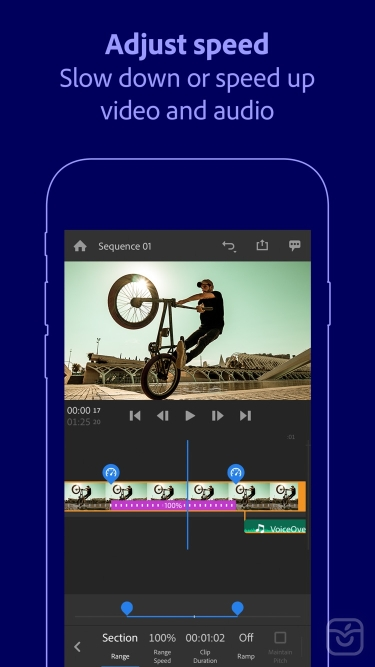 تصاویر Adobe Premiere Rush for Video