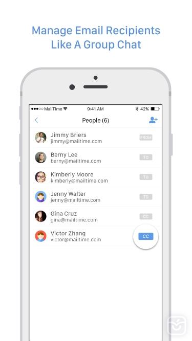 تصاویر MailTime Email Messenger