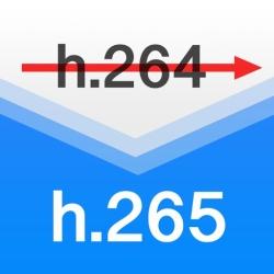 لوگو H.265 : H.264 Cross Converter