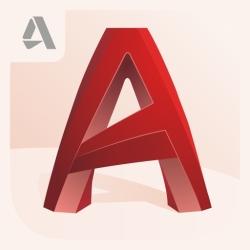 لوگو AutoCAD