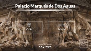 تصاویر Fachada del Palacio Marqués de Dos Aguas. Valencia