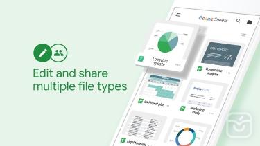 تصاویر Google Sheets