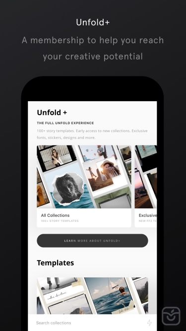 تصاویر   Unfold — Create Stories