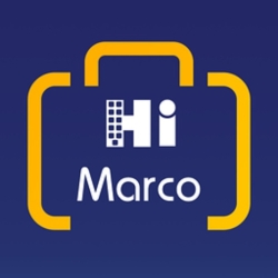 لوگو  بلیط هواپیما | Hi Marco