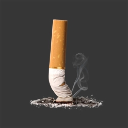 لوگو Quit Smoking --~