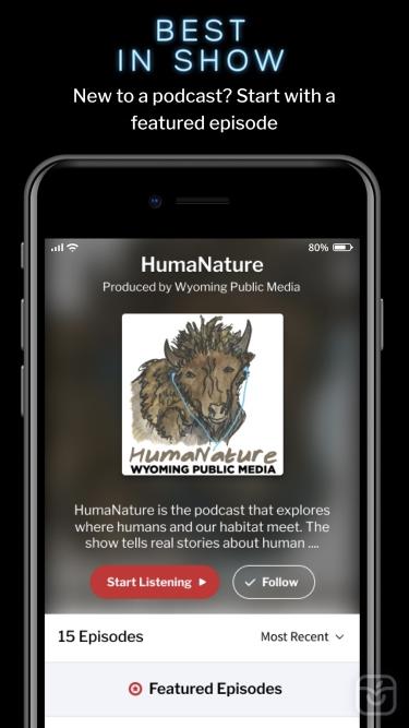 تصاویر RadioPublic - The Podcast App