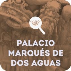 لوگو Fachada del Palacio Marqués de Dos Aguas. Valencia