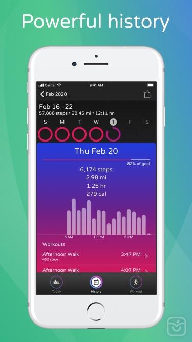 تصاویر Steps - Activity Tracker