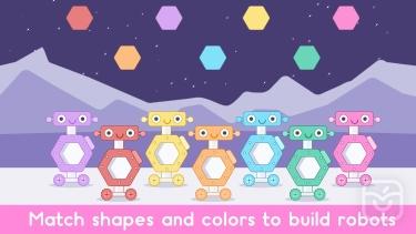 تصاویر Little Robot Shapes and Colors