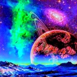 لوگو Alien Worlds Music Visualizer