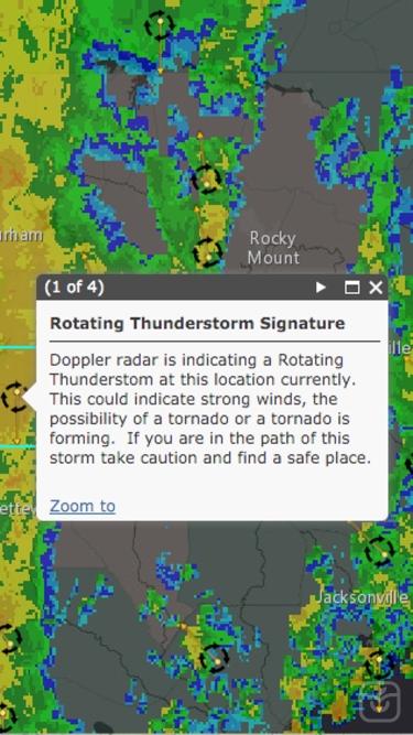 تصاویر Simply Weather Radar