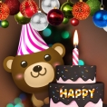 Happy Birthday Cake: Happy Birthday Candles