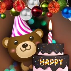 لوگو Happy Birthday Cake: Happy Birthday Candles