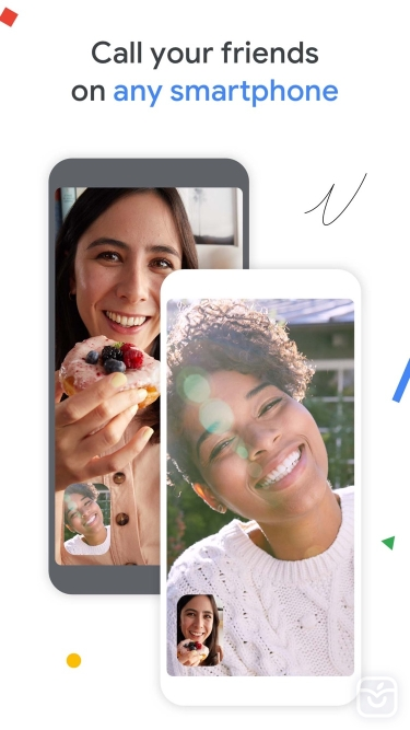 تصاویر Google Duo