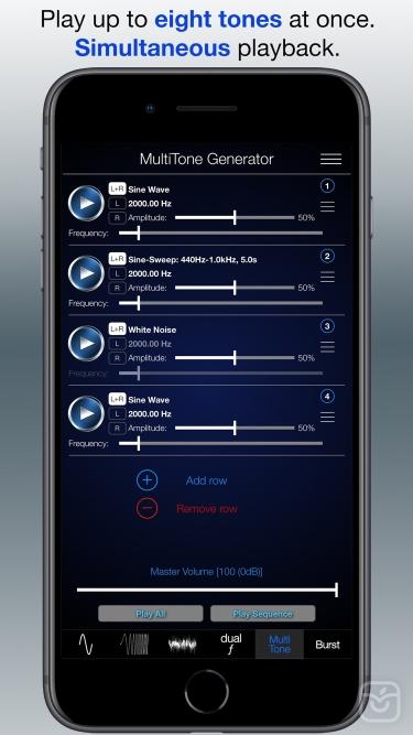 تصاویر Audio Function Generator PRO