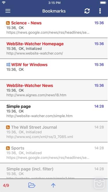 تصاویر WebSite-Watcher