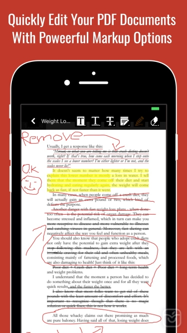تصاویر PDF Document Editor & Reader