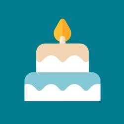 لوگو Birthday Cake - Blow out the candles